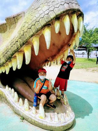 福井県 恐竜博物館に行ったよ♪