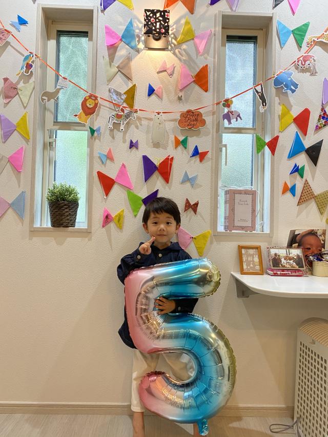 5歳になったよー!