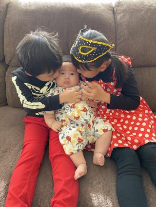 3姉弟のハロウィン