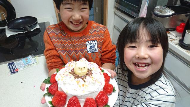 手作りChristmas cake!!