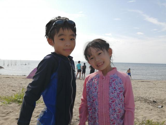 海に行ったよ