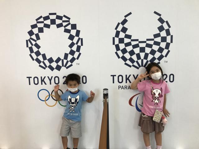 オリンピック応援するぞ!